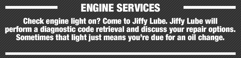 Engine Service   Jiffy Lube Knoxville