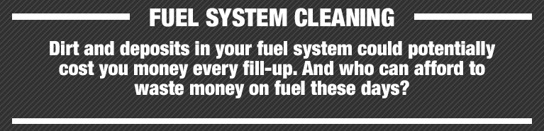 Jiffy Lube Knoxville Fuel System Cleaning Details